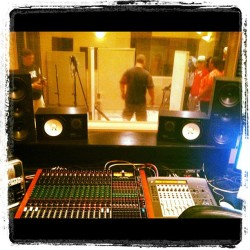 In the studio(:  (Taken with Instagram)