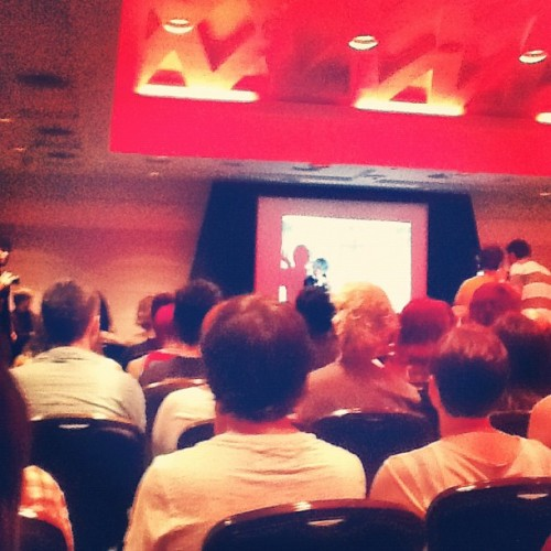 @tommilsom doing his talk @ #SitC :3 (Taken with Instagram at Summer In The City)