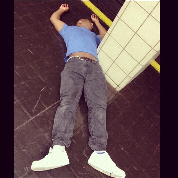 Can't hang. #drunk #path #nyc #jerseycity #train #canthang (Taken with Instagram)