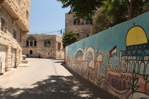Old City of Hebron Street. Shot by Hallgrim Haug (DP) during our Location Scout, July 2011