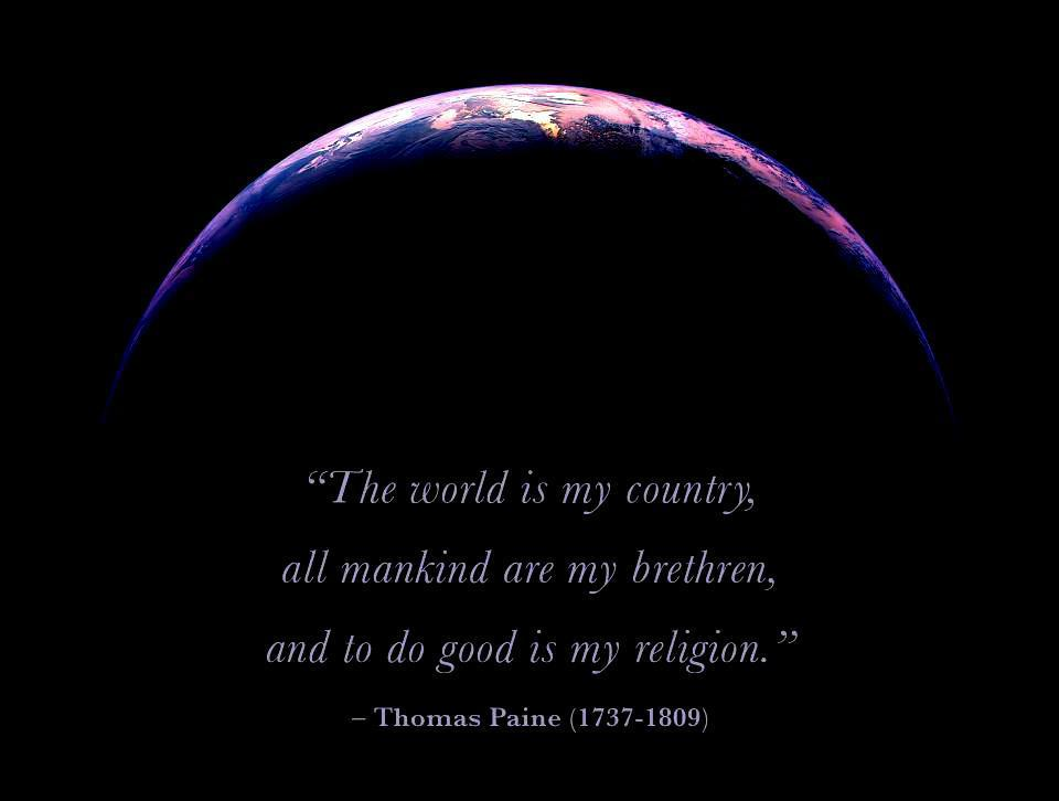 americawakiewakie:  To do good is my religion.
