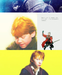 Harry Potter Meme: Nine Characters - RON WEASLEY