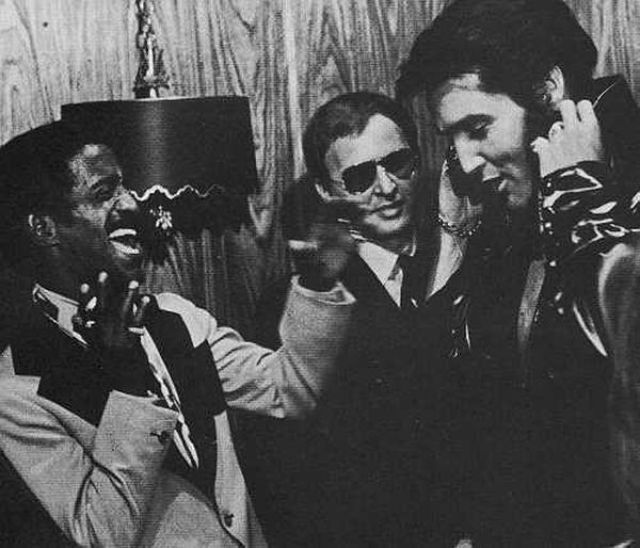cosmosonic:  Sammy Davis Jr and Elvis Presley  IN LOVE