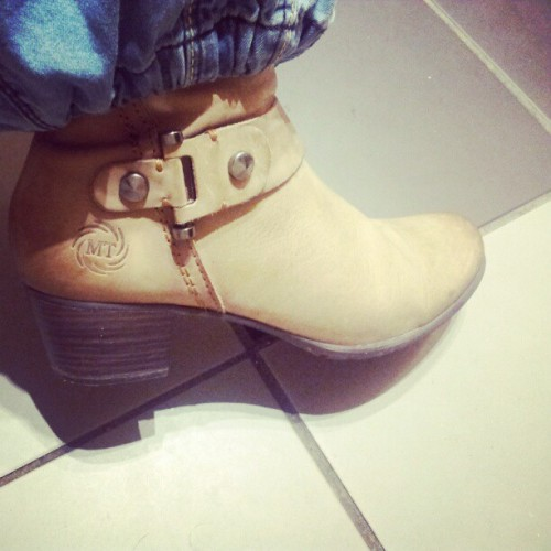 New boots! :) #shoes #boots #new (Taken with Instagram)