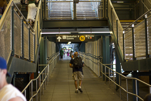 Subway Walkway on Flickr.