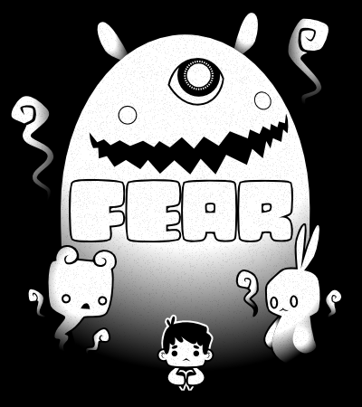 Game Jolt Fear Contest Poster w Text by ~knitetgantt