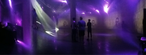 #undercurrent RInseFM in the tanks. Image courtesy of @tatecollectives very own @gabysahhar