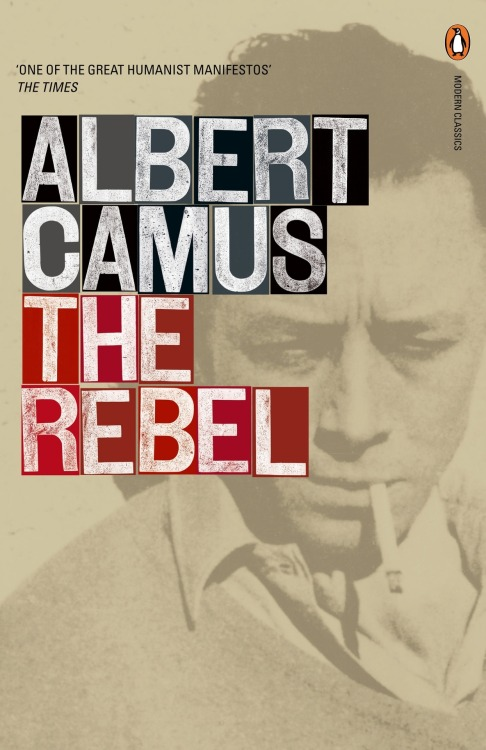 "Currently Reading: The Rebel by Albert Camus  By one of the most profoundly influential thinkers of our century. The Rebel (L'Homme Révolté) is a classic essay on revolution. For Albert Camus, the urge to revolt is one of the ""essential dimensions"" of human nature, manifested in man's timeless Promethean struggle against the conditions of his existence, as well as the popular uprisings against established orders throughout history. And yet, with an eye toward the French Revolution and its regicides and deicides, he shows how inevitably the course of revolution leads to tyranny. As old regimes throughout the world collapse, The Rebel resonates as an ardent, eloquent, and supremely rational voice of conscience for our tumultous times."