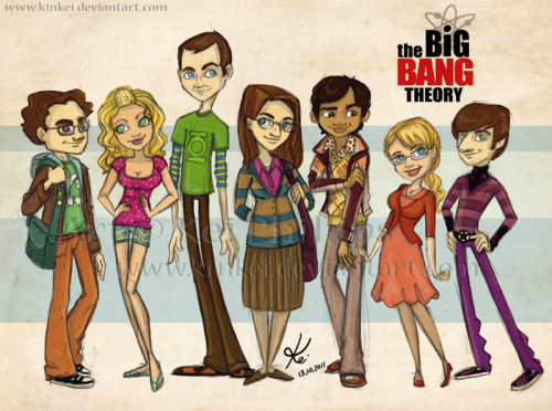 hufflepuff-companion:  The Big Bang Theory by kinkei