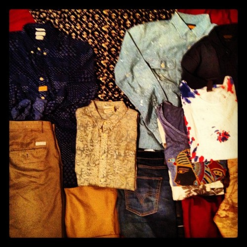 Packing #vegaskit (Taken with Instagram)