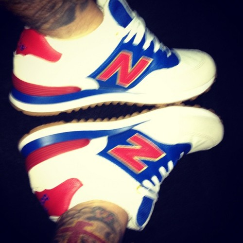 Today's kicks #NewBalance X 🇺🇸  (Taken with Instagram)