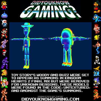 didyouknowgaming:  Kingdom Hearts.