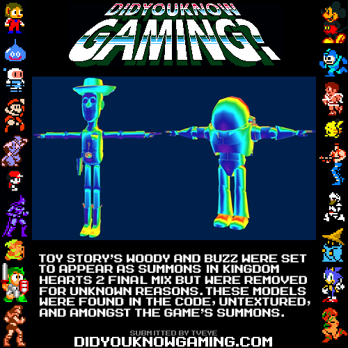 didyouknowgaming:  Kingdom Hearts.   THAT'S NOT FAIR.