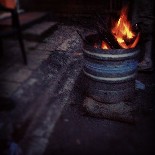 Biffs n Fire  (Taken with Instagram)