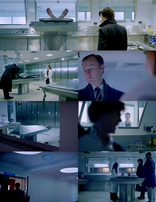 2/10 Favourite Locations in BBC's Sherlock: The Morgue