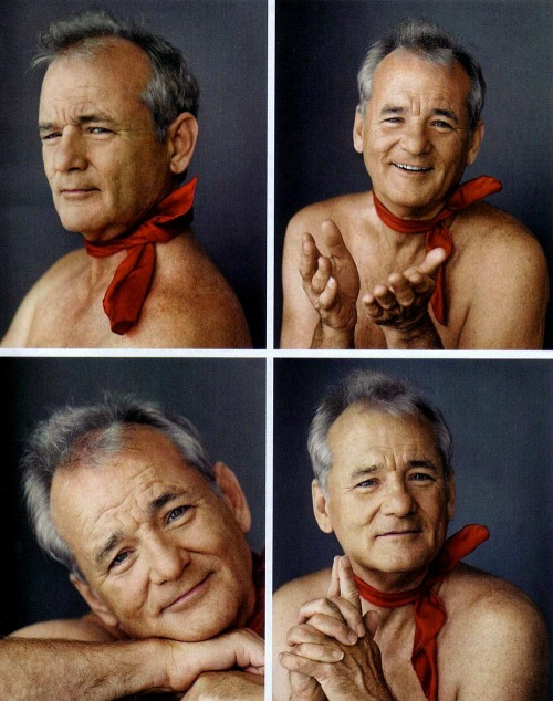 filmcrack:  pickledelephant:  Bill Murray  moon of my life
