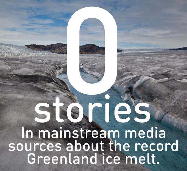 carolinafrica:  The rapid melting of Greenland's ice sheet could be one of the most important events in history…   Source: 350.org  Read about it: http://mediamatters.org/blog/2012/08/17/media-turn-a-blind-eye-to-record-greenland-ice/189421