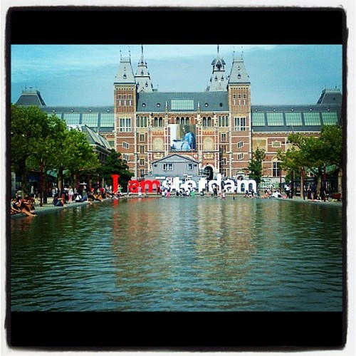 #iamsterdam #rijksmuseum (Taken with Instagram)