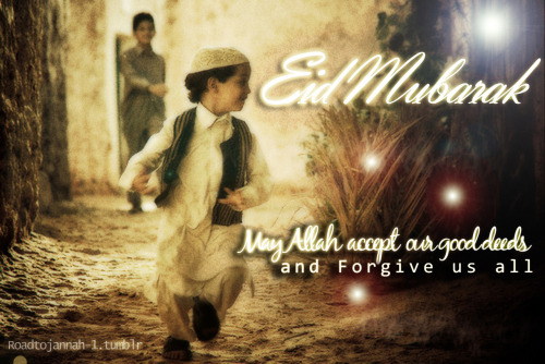 Eid Mubarak !!! .. May Allah accept our good deeds and forgive us all … :)