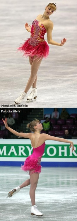Carolina Kostner's fun Memoirs of a Geisha costume at the 2007 European and World Championships. Sources: photos.skatetoday.com/displayimage.php?album=59&pid=8585#top_display_media www.artonice.it/?q=it/node/3330