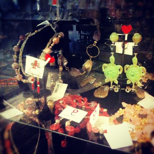 Olmec handmade jewelry - ALL 15% OFF #pangaeaoutpost #delmar #renovationsale  (Taken with Instagram at Pangaea Outpost)