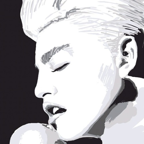 kirbyshuffles:  Madonna #drawsomething  (Taken with Instagram)