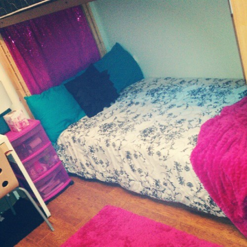 my beddd** (Taken with Instagram)