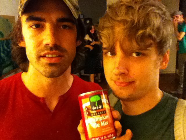 nic rad and me hanging out with a can of somthing i honesly dont care about