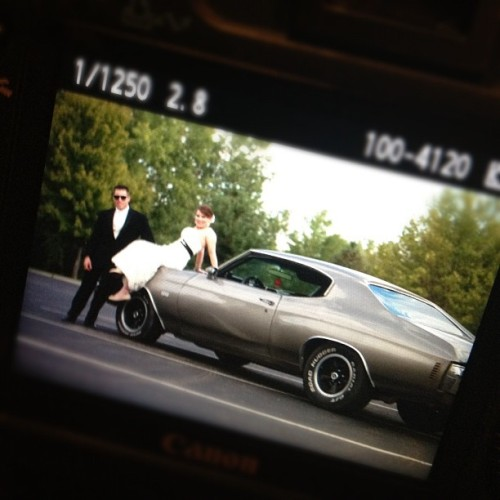 Sassy stuff. @dlcpix #wedding #car #photography #bride #groom (Taken with Instagram)
