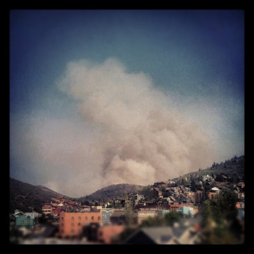 deer valley is on fire #letitburn  (Taken with Instagram at Main Street- Park City, UT)