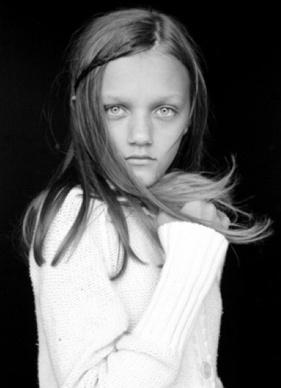 pivoslyakova:  Peyton Knight - The 13 year old model who is becoming  more and more popular because of her recent editorial work by Steven Meisel
