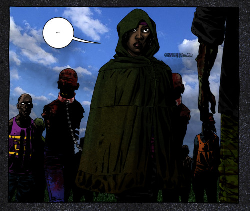 Michonne's Entrance.