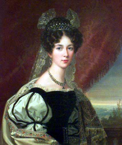 Crown Princess Josephine of Sweden and Norway (about 1835) by Frederik Westin (Also Joséphine de Beauharnais)