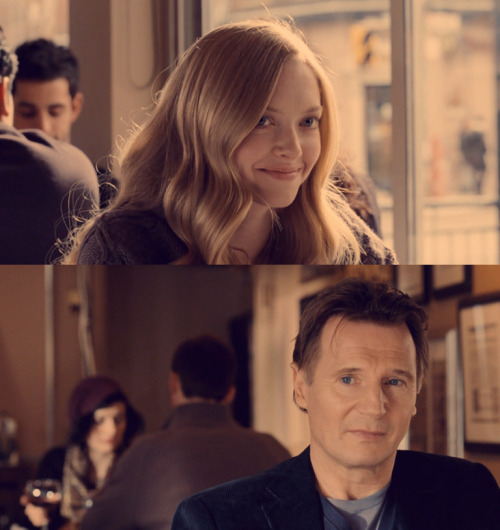 To Liam Neeson: If you are looking to woo Amanda Seyfried, I can tell you I don't have money or resources to stop you. But what I do have are a very particular set of skills, skills that have Oscar winning potential; skills I have acquired over a very long career. Skills that make me a nightmare for people like you. If you let me have a chance with her, that'll be the end of it. I will not look for you, I will not pursue you. But if you don't, I will look for you, I will find you, and I will kill you [okay, that's a bit extreme… Look if you ask me for a role in one of my films I'll turn you down]. Faithfully, Dwayne Preboye [Future Oscar winning director and writer]