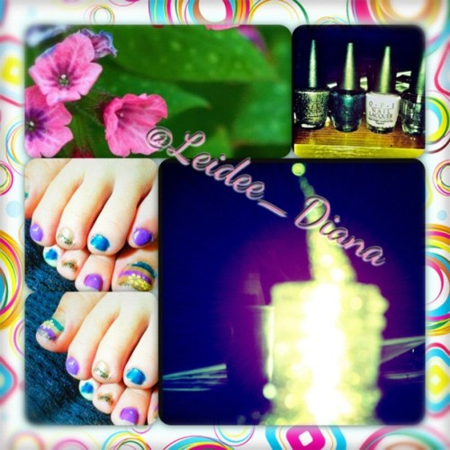 💜💅 #pedicures 😍 (Taken with Instagram)