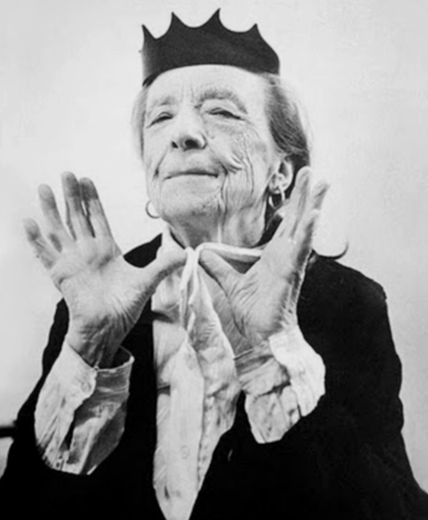 petrole:  louise bourgeois by bruce weber for helmut lang fall winter 1997/98 ad campaign
