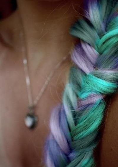 Fairy-tail hair! I'm in love with all these colors :)