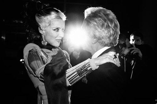 Daphne Guinness at Valentino's 'Virtual Museum' launch, August 2012.
