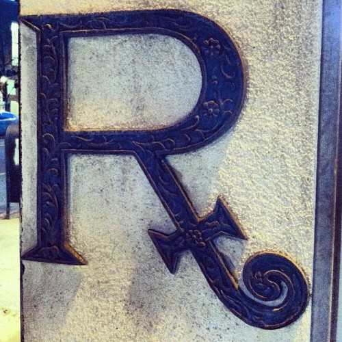 Day 308: RX #typegeek365 #photo365 #letters #tumblr  (Taken with Instagram)