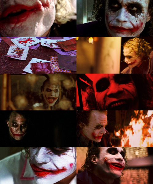 The Dark Knight Joker (Red) | Requested by Anon