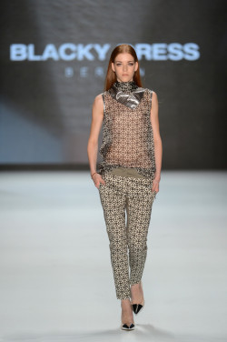 Blacky Dress: Runway - Mercedes-Benz Fashion Week  Spring/Summer 2013 (by Samir Hussein/Getty Images Europe)