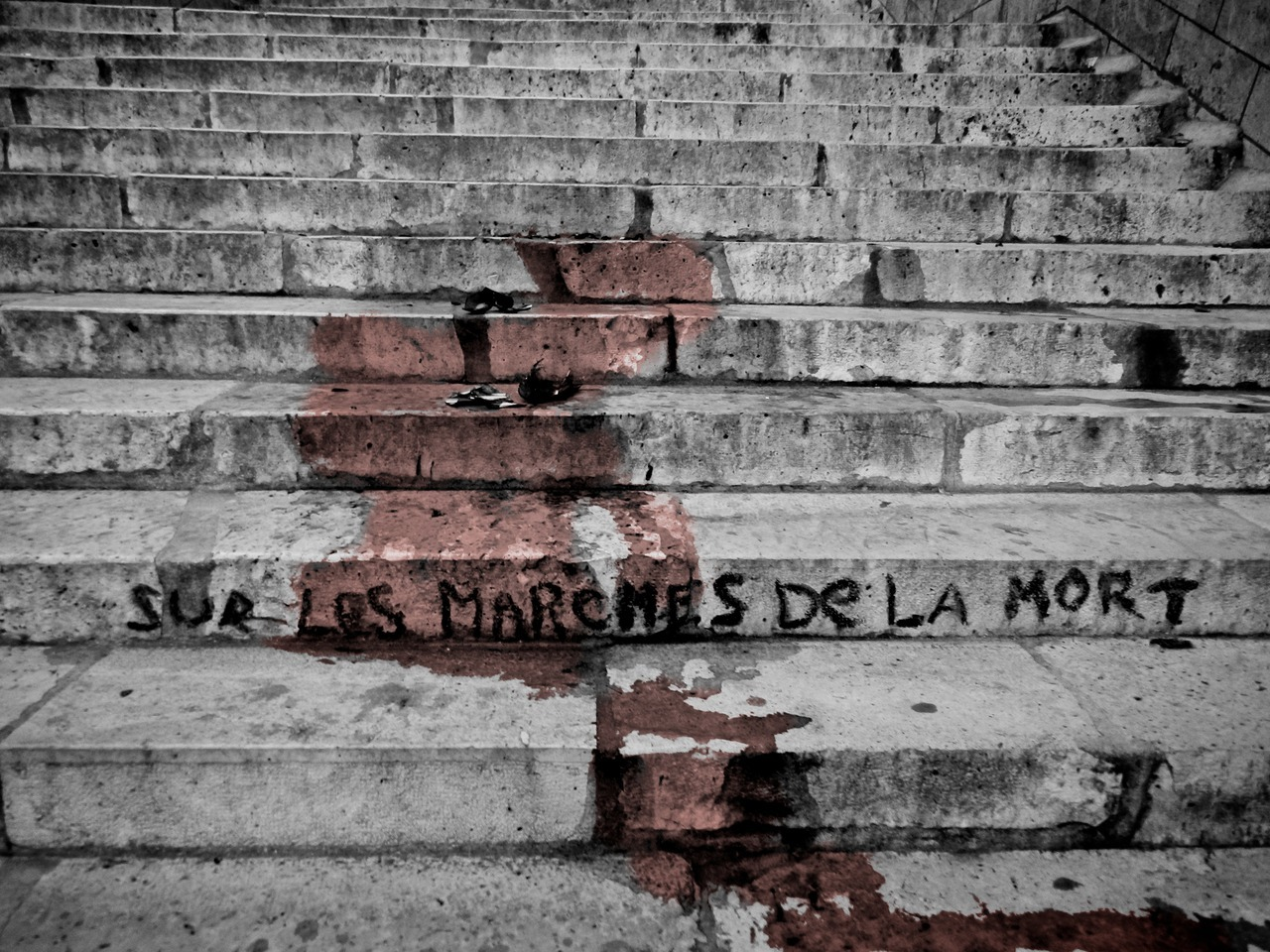 'Sur Les Marches de la Mort', Paris, France, August 2012