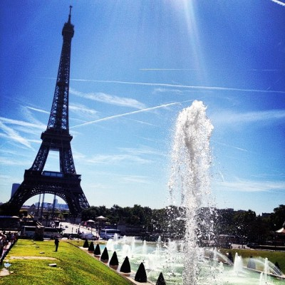 And this is what I call a PErfect #Summer day in #Paris x  (Taken with Instagram)