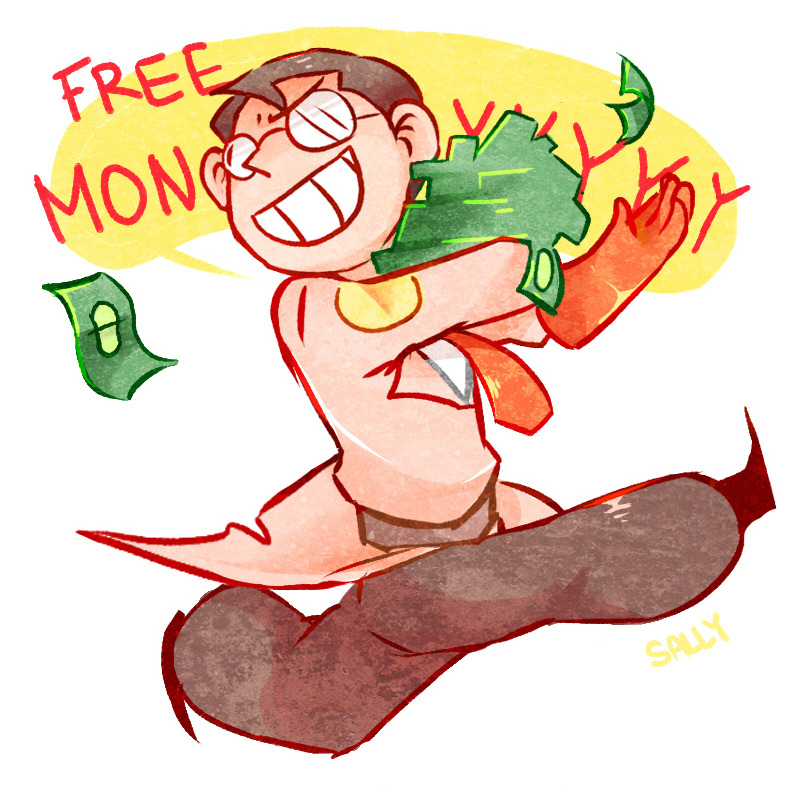 fuckyeahtf2:  OH! MONEY! by SallysTale