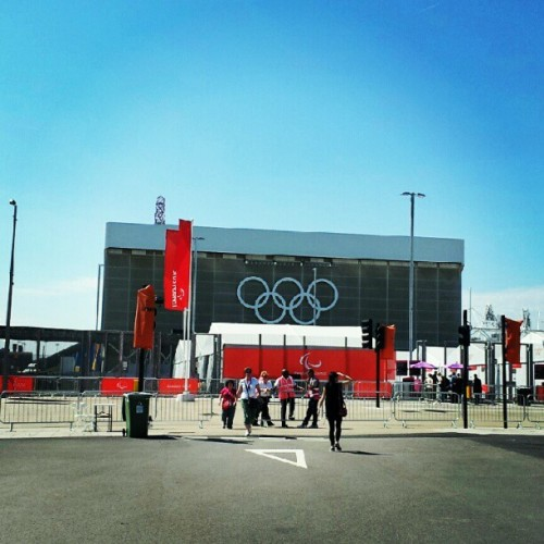 #olympic park #London #England #travel  (Taken with Instagram)