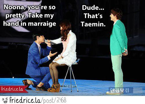 Changmin Proposes To Taemin