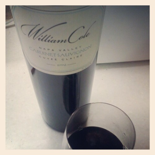 06 William Cole CabSauv   (Taken with Instagram)