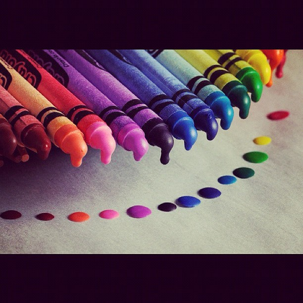 #colors #crayons #pretty #red #blue #yellow #art #picoftheday #instagood  (Tomada con Instagram)