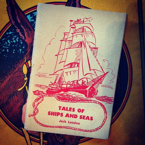#estatesale #tiny #vintage #book #ship (Taken with Instagram)