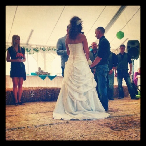 Wedding Day for Jen & Derek (Taken with Instagram)